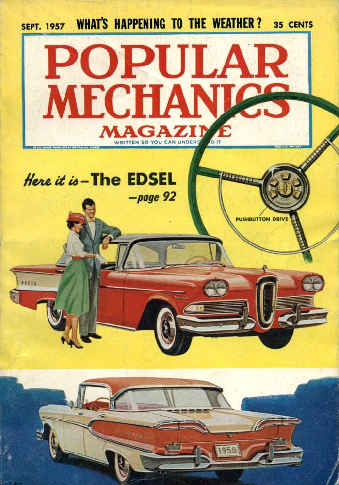 Vintage Edsel Literature